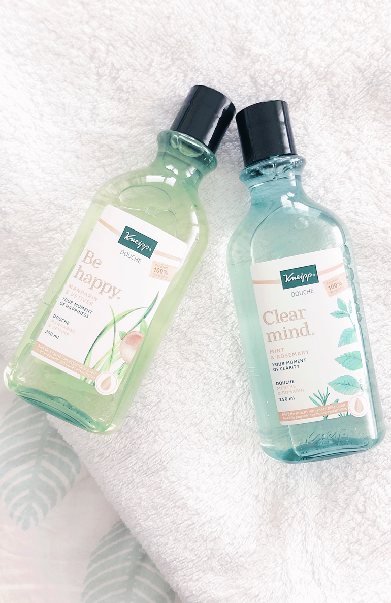 Kneipp douches Be Happy en Clear Mind