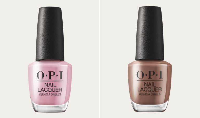 OPI Pink on canvas Espresso your inner self nagellak