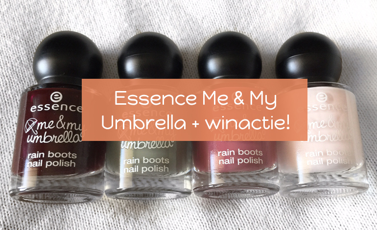 Essence Me & My Umbrella collectie - uitgelichte foto
