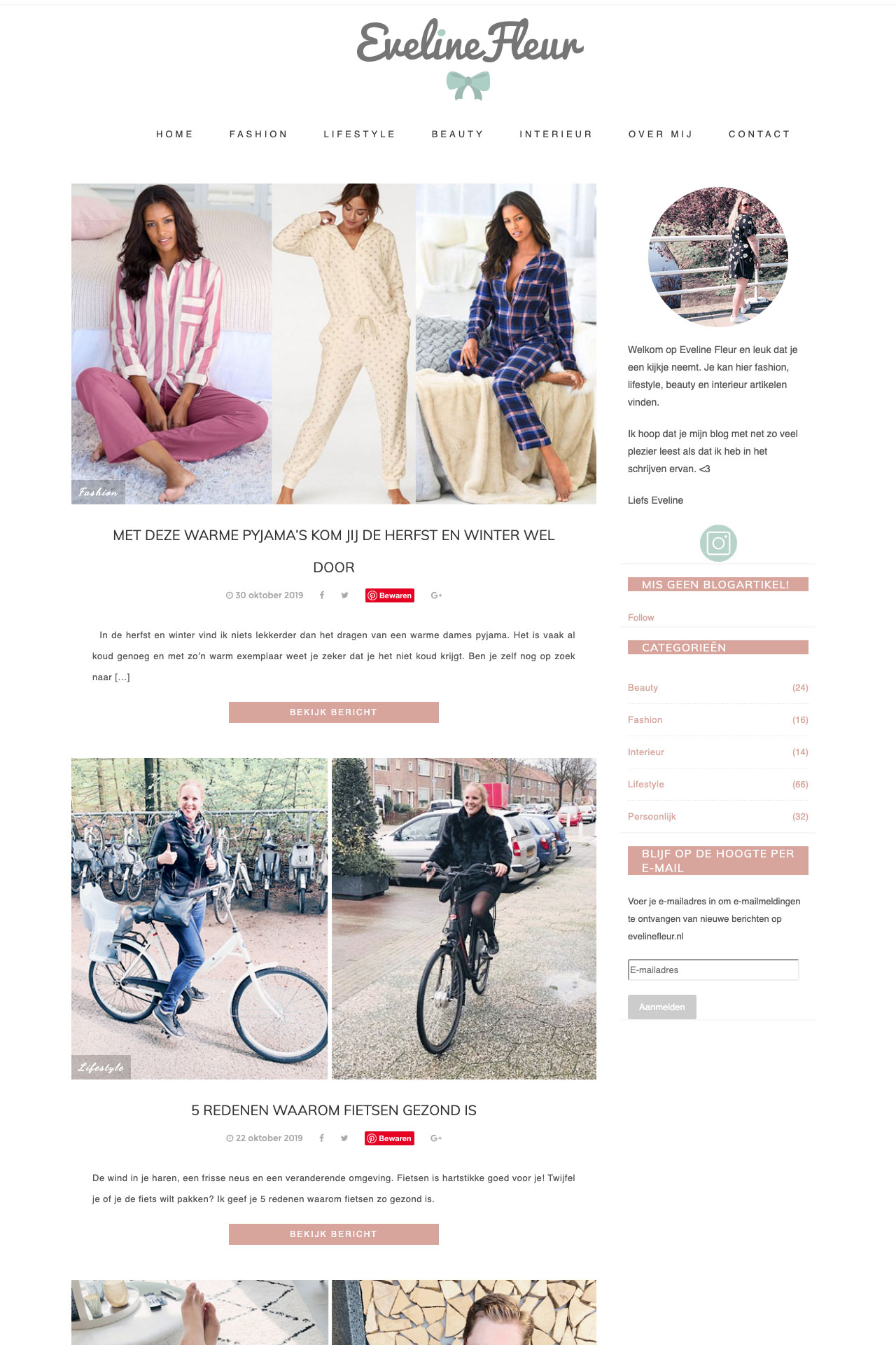 oude template website
